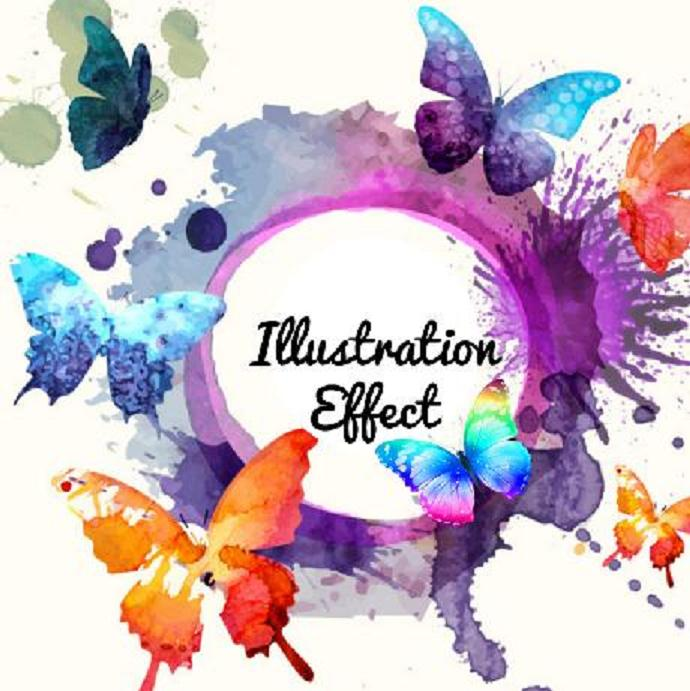 Illustrations effect