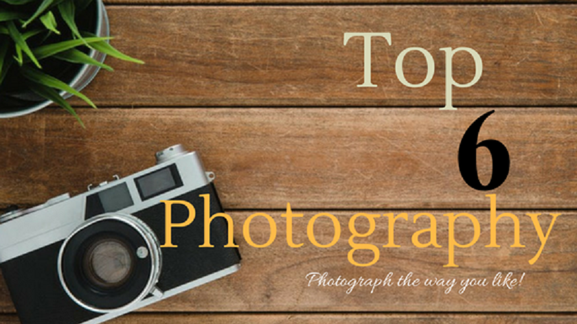 Top 6 Photography Trends