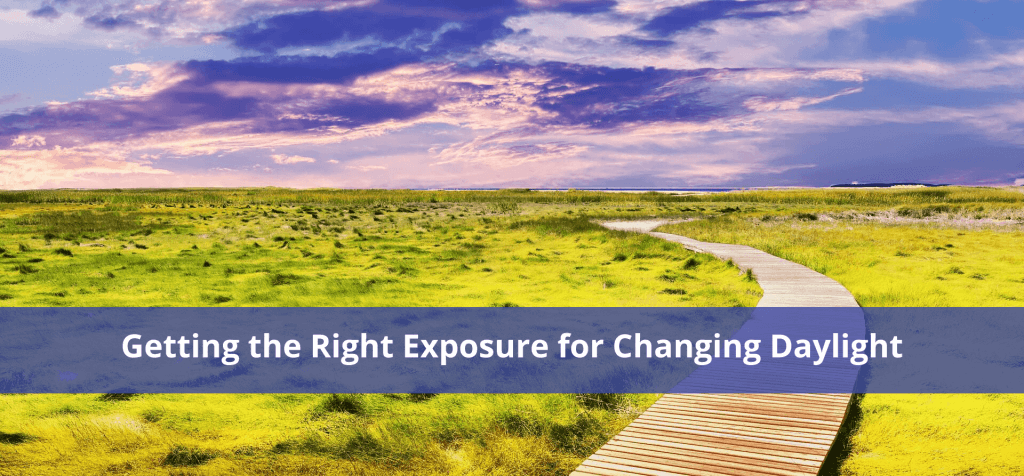 Getting the Right Exposure for Changing Daylight